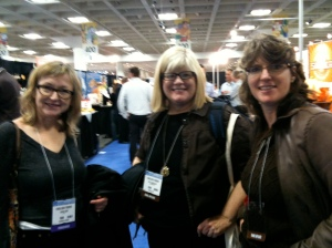 Foodie extaodinaire, Susan Gibbs, Betsty Burroughs, Claudia Brenner