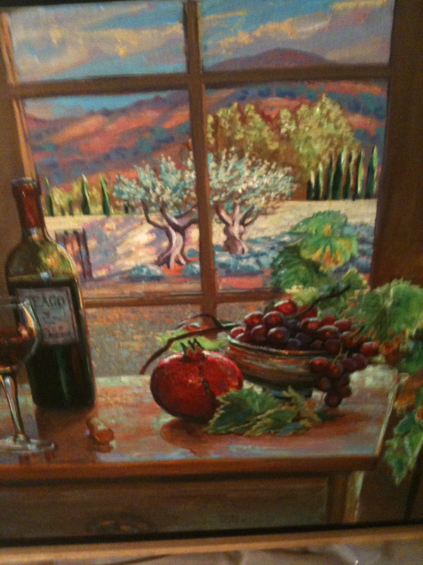 Still life painting by Anthony Holdsworth