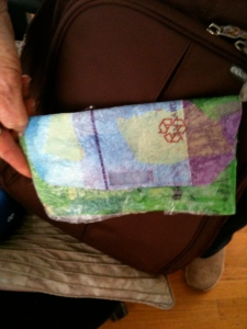 Wallet made by Valerie Landau