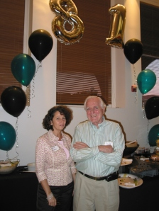 Valerie Landau and Doug Engelbart